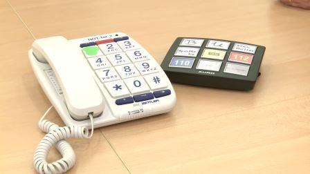 Telefon mit Großtastenerweiterung