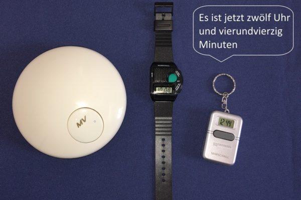 Uhren mit Sprachausgabe